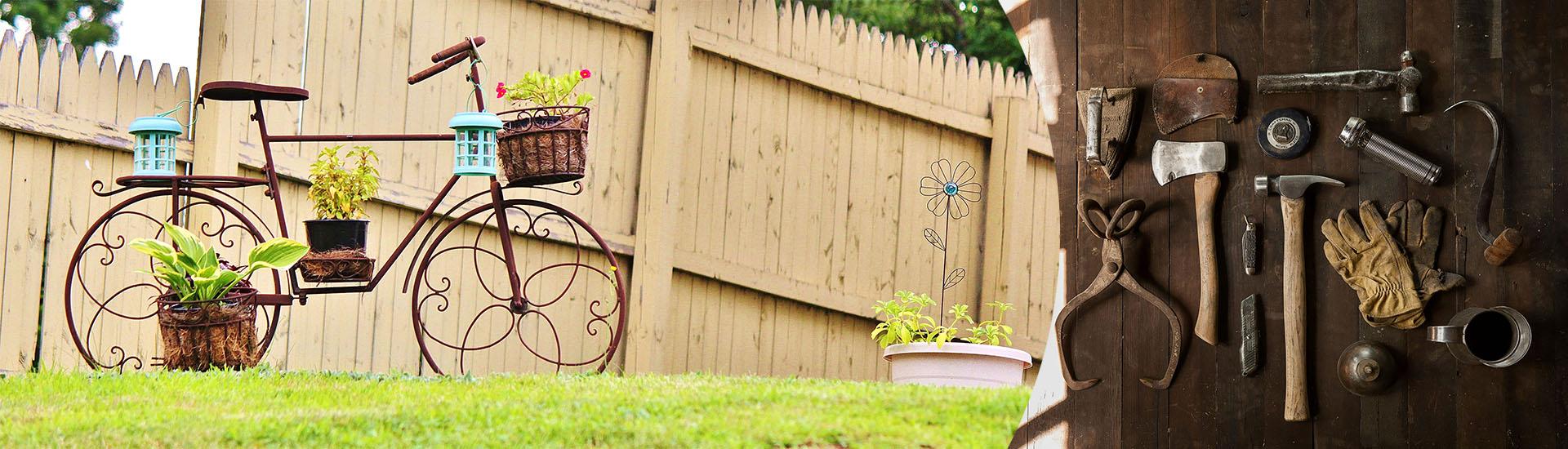 L'ADMR réalise vos travaux de bricolage et de jardinage à domicile